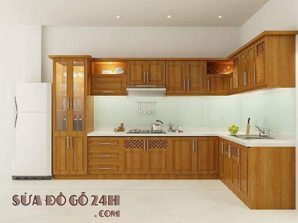 Sửa chữa tủ bếp uy tín chất lượng tại quận Bắc Từ Liêm