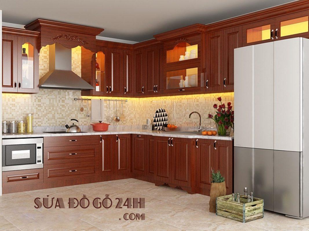 Đơn vị sửa chữa tủ bếp tại quận Thanh Xuân