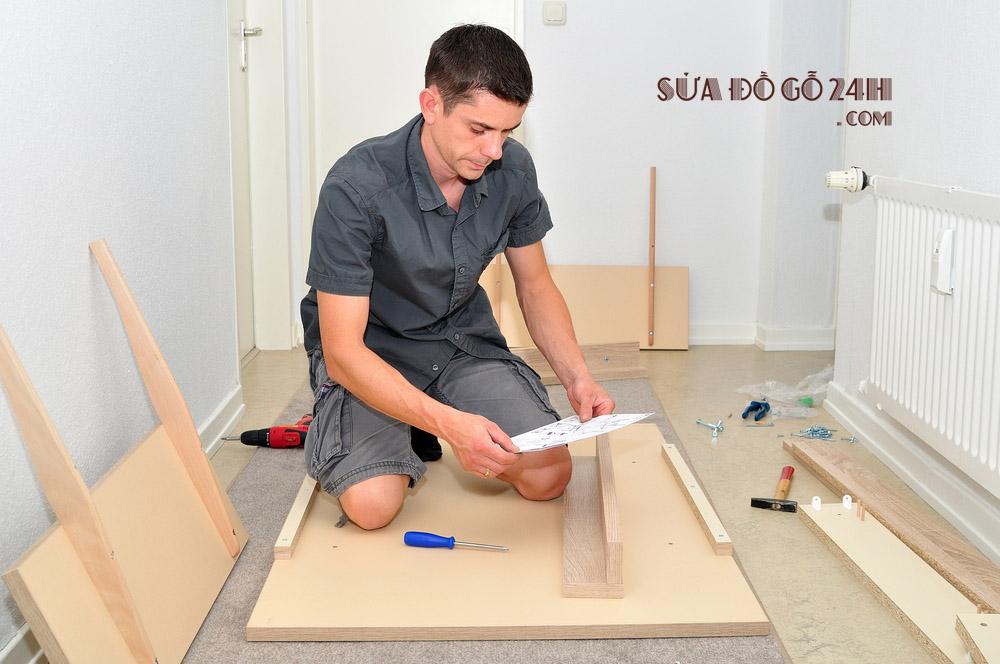 Thợ sửa đồ gỗ Tuấn Tường
