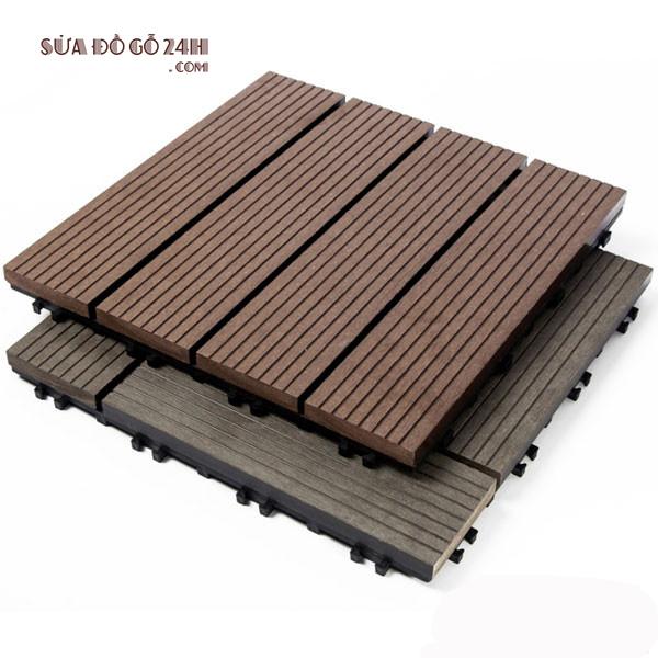 Ưu điểm của gỗ nhựa