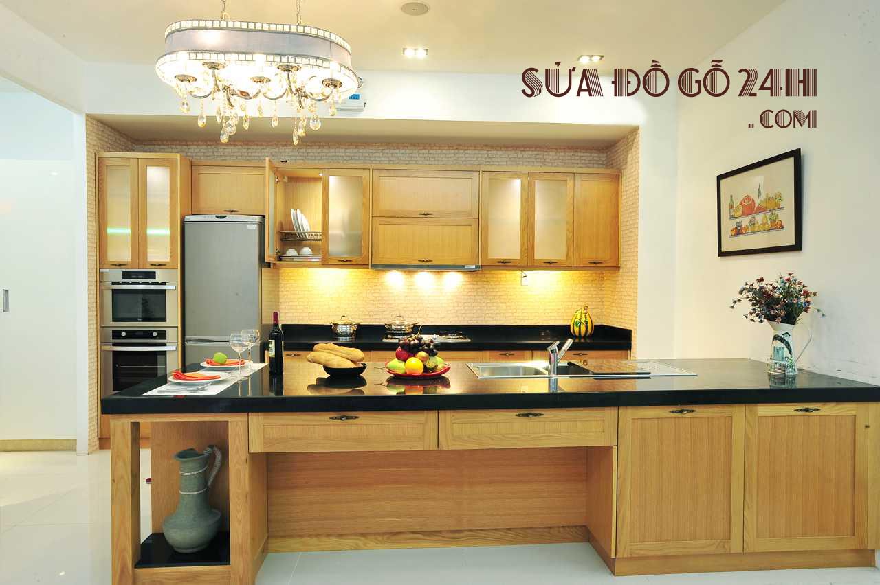 Đơn vị sửa chữa tủ bếp tại quận Long Biên