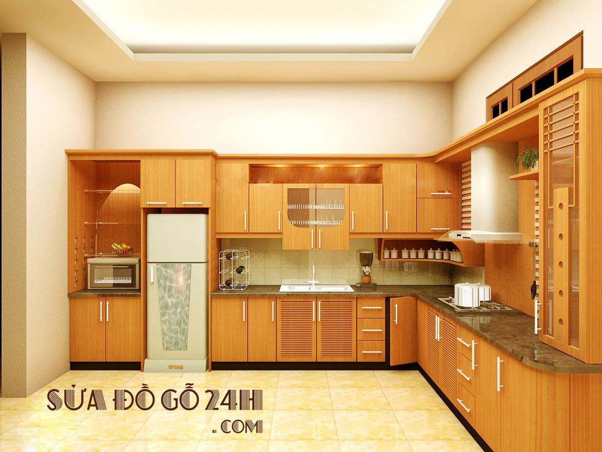 Đơn vị sửa chữa tủ bếp tại quận Nam Từ Liêm