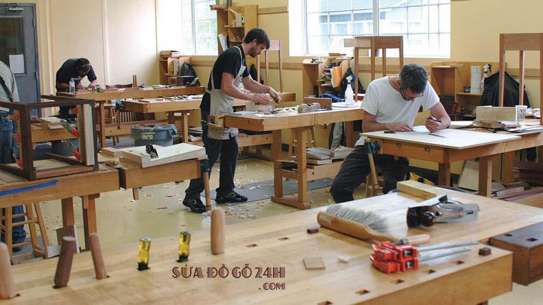 Thợ đóng đồ gỗ tại quận Hoàng Mai