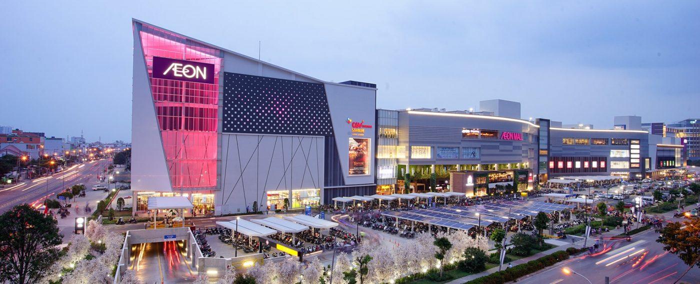 Trung tâm thương mại Aeon quận Hà Đông