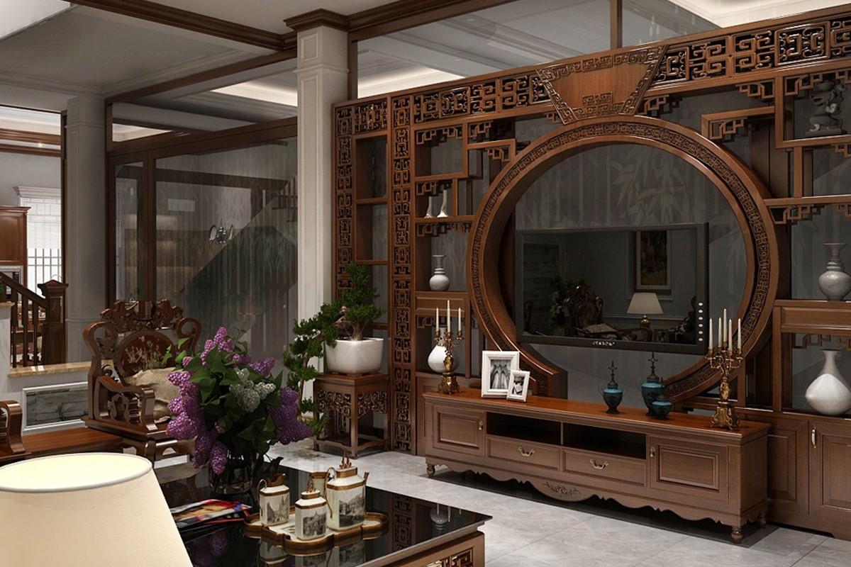đồ gỗ nội thất phong khách diện tích rộng