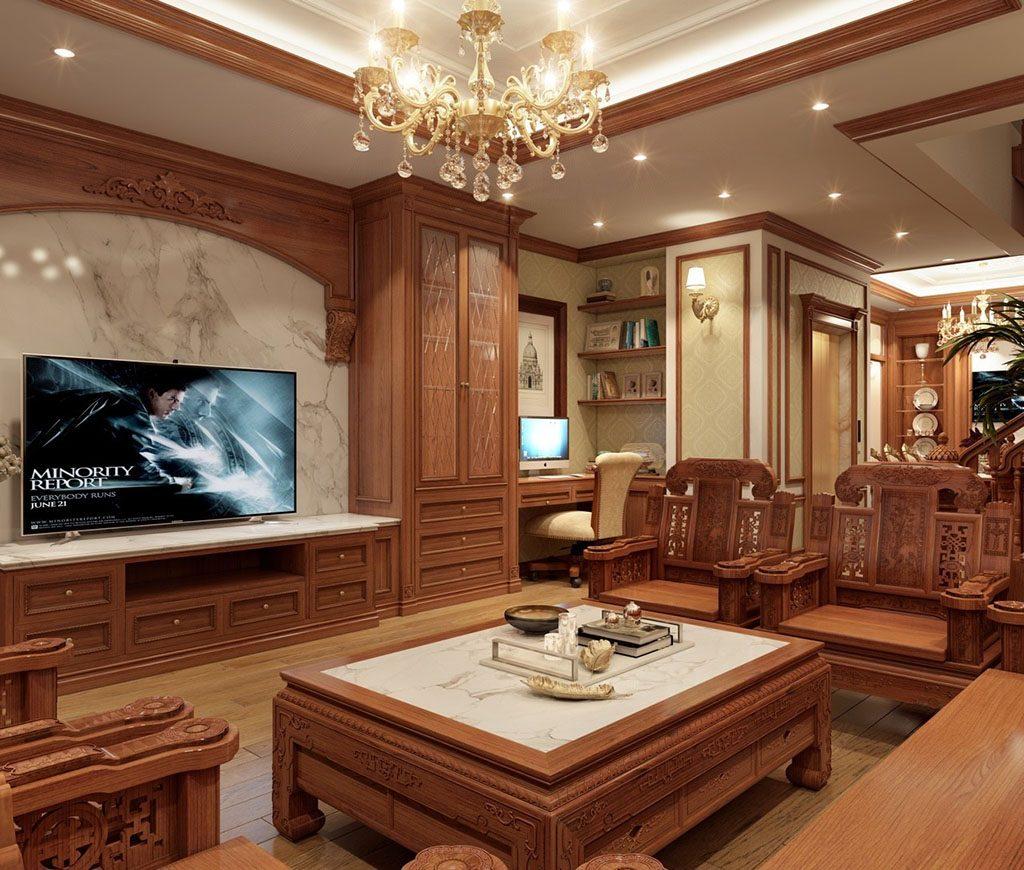 đồ gỗ nội thất thời thượng